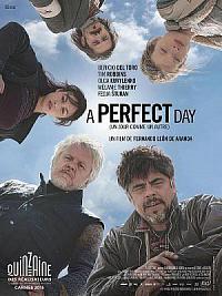 affiche sortie dvd a perfect day, un jour comme un autre