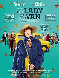affiche sortie dvd The Lady In The Van