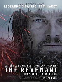 affiche sortie dvd the revenant