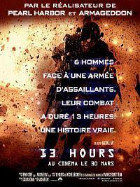 affiche sortie dvd 13 hours