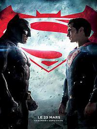 affiche sortie dvd batman v superman - l'aube de la justice