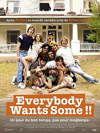 affiche sortie dvd everybody wants some !!