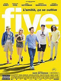 affiche sortie dvd five