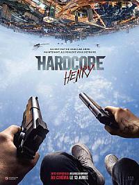 affiche sortie dvd hardcore henry
