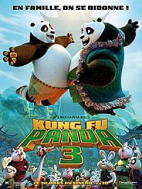 affiche sortie dvd kung fu panda 3