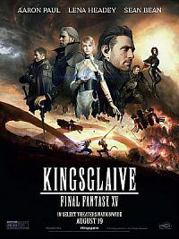 affiche sortie dvd kingsglaive - final fantasy xv