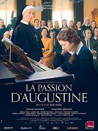 affiche sortie dvd la passion d'augustine