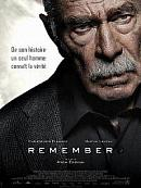 affiche sortie dvd Remember