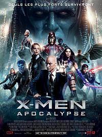 affiche sortie dvd x-men - apocalypse