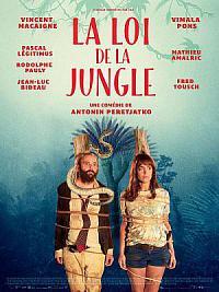 affiche sortie dvd la loi de la jungle