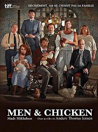 affiche sortie dvd men & chicken