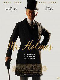 affiche sortie dvd mr. holmes