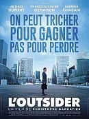 affiche sortie dvd L'Outsider