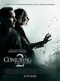 affiche sortie dvd conjuring 2 - le cas enfield