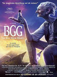 affiche sortie dvd le bgg, le bon gros geant