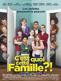 affiche sortie dvd c'est quoi cette famille?!