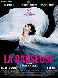 affiche sortie dvd la danseuse