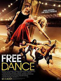 affiche sortie dvd free dance