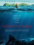 affiche sortie dvd instinct de survie - the shallows