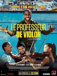 affiche sortie dvd le professeur de violon