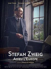 affiche sortie dvd stefan zweig, adieu l'europe