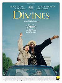 affiche sortie dvd divines