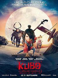 affiche sortie dvd kubo et l'armure magique