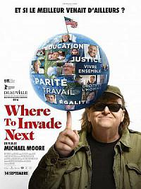 affiche sortie dvd where to invade next