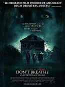 affiche sortie dvd don't breathe - la maison des tenebres