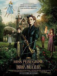 affiche sortie dvd miss peregrine et les enfants particuliers