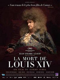 affiche sortie dvd la mort de louis xiv