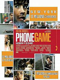 affiche sortie dvd phone game