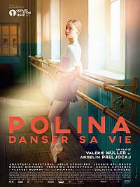 affiche sortie dvd polina, danser sa vie
