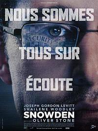 affiche sortie dvd snowden