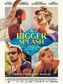 affiche sortie dvd A Bigger Splash