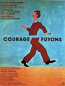 affiche sortie dvd courage, fuyons