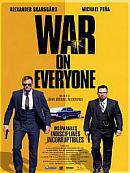 affiche sortie dvd War on Everyone