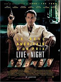 affiche sortie dvd live by night