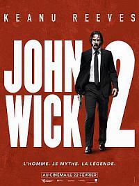 affiche sortie dvd john wick 2