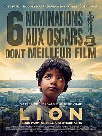 affiche sortie dvd lion