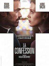 affiche sortie dvd la confession