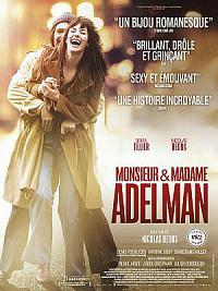 affiche sortie dvd monsieur & madame adelman