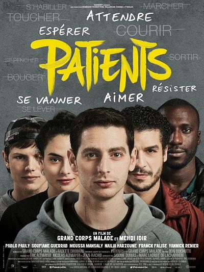 sortie vod, dvd et blu-ray Patients