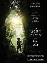 affiche sortie dvd the lost city of z