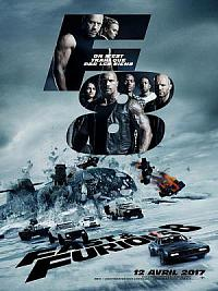 affiche sortie dvd fast & furious 8
