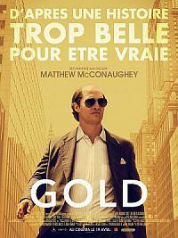 affiche sortie dvd gold