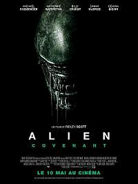 affiche sortie dvd Alien: Covenant