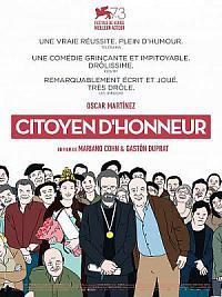 affiche sortie dvd citoyen d'honneur