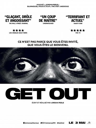 sortie vod, dvd et blu-ray Get Out