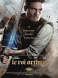 affiche sortie dvd le roi arthur: la legende d'excalibur